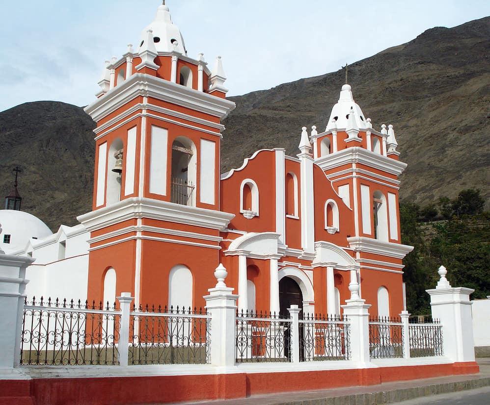 Iglesia Matriz de Lunahuaná, Siglo XVII